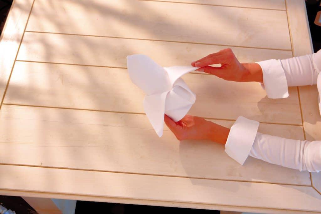 Kreatív szalvétahajtogatási technika 08