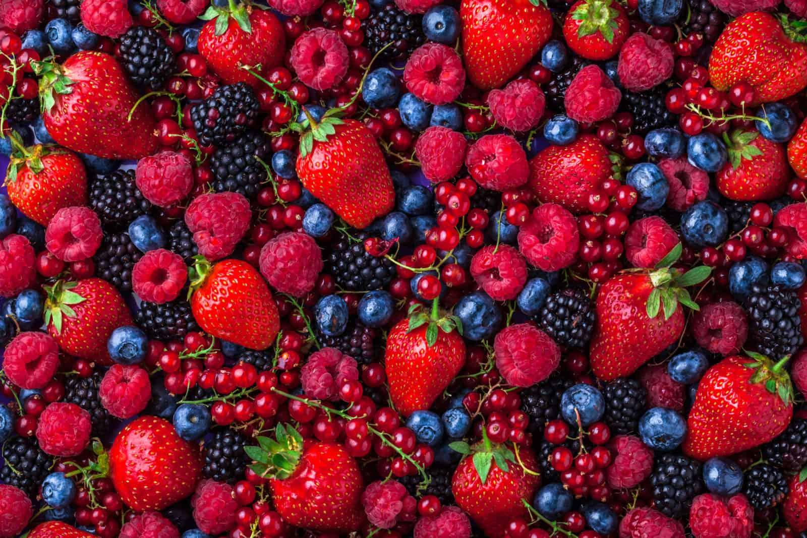 afrodiziákumok, bogyós gyümölcsök, valentin-nap, vágykeltő ételek,